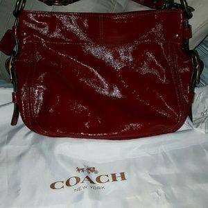 Coach Bags - Red coach bag